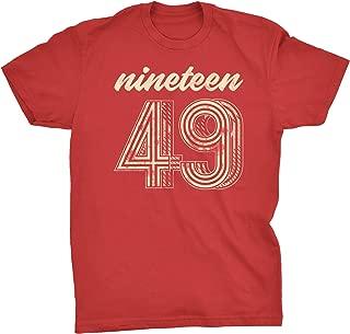 70th Birthday Gift T-Shirt - Retro Birthday - Vintage 1949