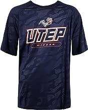 NCAA The University of Texas at El Paso UTEP Short Sleeve Crew Neck T-Shirt