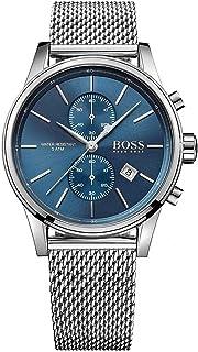 Hugo Boss Mens Quartz Watch, Analog Display and Stainless Steel Strap 1513441