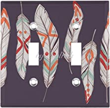 Native American Light Switch Covers