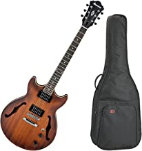 Ibanez AM53TF Artcore Semi Hollow Electric Guitar (Tobacco Flat) w/ Gig Bag