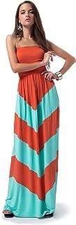 chevron maxi dress mint