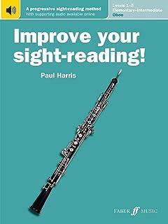 Improve Your Sight-Reading! Oboe, Levels 1-5 (Elementary-Intermediate): A Progressive Sight-Reading Method, Book & Online ...