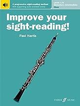 Improve Your Sight-Reading! Oboe, Levels 1-5 (Elementary-Intermediate): A Progressive Sight-Reading Method, Book & Online Audio