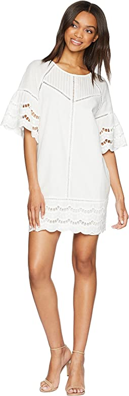 Rowan Scalloped Shift Dress