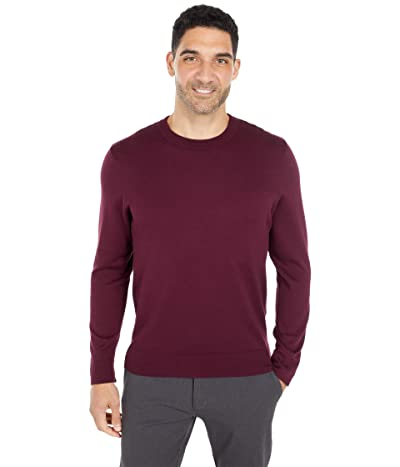 Dockers Crew Neck Sweater (Winetasting Bayberry) Men