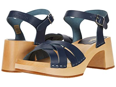 Swedish Hasbeens Katja High (Dark Blue) Women
