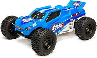 Losi 22S ST Brushless RC Stadium Truck RTR with DX2E DSMR Transmitter with AVC (Battery and Charger Not Included), 1/10 Scale (Blue/Silver)