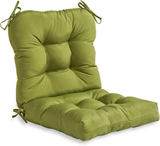Greendale Home Fashions Outdoor Seat/Back Chair Cushion, Summerside Green