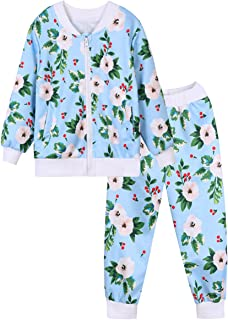 Cute Kid Girls Boy Long Sleeve Sweater and Long Pant 2 Pieces Clothes Outfit Sports Suit