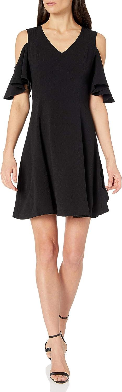 Amazon Brand - Lark Ro Women's Sleeve Shoulder Very popular A-Li Cold Short Deluxe