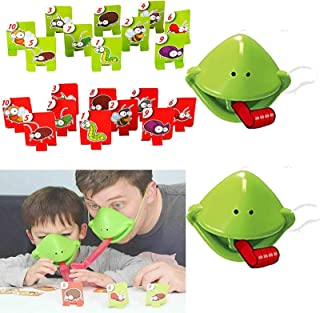 Lizard Tongue Eating Pest Board Game,Funny Family Desktop Game Interactive Toys,Educational Toy Gift for Kids