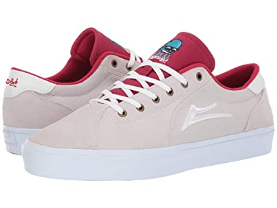 Lakai Flaco II (White/Red Globo) Men