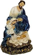 Grabfigur Madonna Lourdes Maria heiligen Figur Mutter Gottes Holzoptik 40 cm Neu