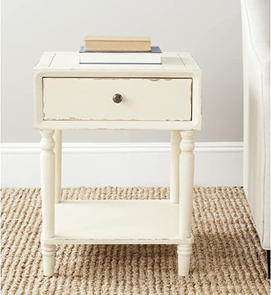 Safavieh American Homes Collection Siobhan Vintage Cream Accent Table