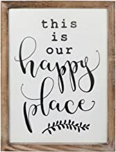 This Is Our Happy Place Metal Sign Home Décor Family Positive Living
