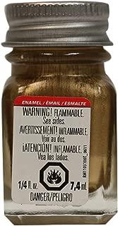 Testors Null 1144TT Enamel Paint, 1/4 oz Glass Bottle, Gold