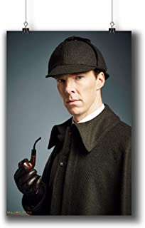 Sherlock TV Series Poster Small Prints 010-311 Sherlock Holmes Benedict Cumberbatch,Wall Art Decor for Dorm Bedroom Living Room (A3|11x17inch|29x42cm)