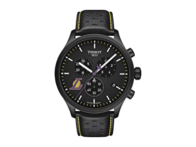 Tissot Chrono XL NBA Chronograph La Lakers T1166173605103 (Black/Black/Purple) Watches