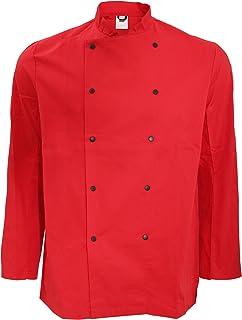 Dennys Confezione da 2 Uomo Pantaloni Elasticizzati Tinta Unita da Chef