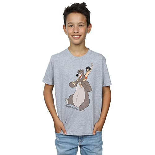 63212f7d37cf19 Disney Boys The Jungle Book Classic Mowgli and Baloo T-Shirt