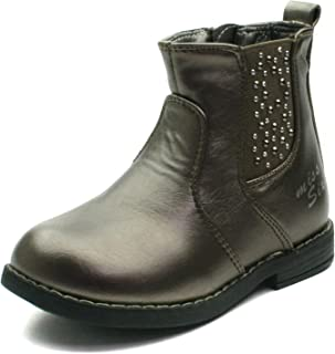 a758a482e45 MS013 Miss Sixty Chesea Baby Boot with Studding Detail Mid Calf for Girls  >> Botina