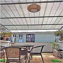 LIXIONG schaduwdoek schaduwnet, HDPE privacybescherming buiten zonnezeil, 85% tarief UV-bestendig windscherm net zonnesche...