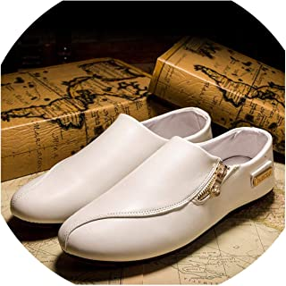 floral hoop Mens Shoes Casual Moccasins Men Loafers Shoes Fashion Brand Lightweight PU Leather Shoes Male