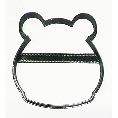 Details about  /BEAR FACE HEAD OUTLINE CARTOON STYLE PLUSH TEDDY BEES COOKIE CUTTER USA PR3360