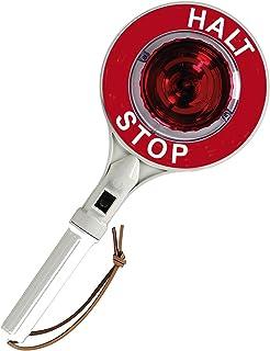 Signalkelle Haltekelle mit Beleuchtung beidseitig Stopkelle Winkerkelle