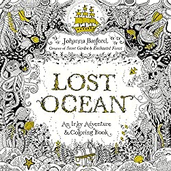 Creative Writing Gifts like a Lost Ocean Adult Coloring Book