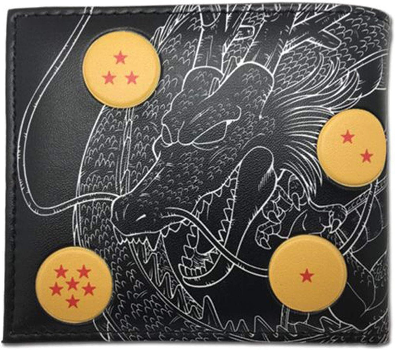 Dragon Ball Super Shenron with Dragon Balls Bi-Fold Wallet