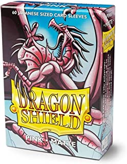 Dragon Shield Sleeves - Matte Japanese Pink Diamond 60 CT – MGT Card Sleeves are Smooth & Tough – Compatible with Pokemon,...