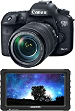 Canon EOS 7D Mark II DSLR Camera with 18-135mm f/3.5-5.6 is USM Lens & W-E1 Wi-Fi Adapter + 7