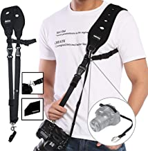 Camera Strap, Prowithlin Camera Neck Strap w/Quick Release Plate and Safety Tether, Camera Shoulder Strap for Photographers, Unisex Camera Strap (prowithlin-Version)