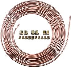 25 Ft. 3/16 OD Copper Nickel Brake Line Tubing Kit 3/16