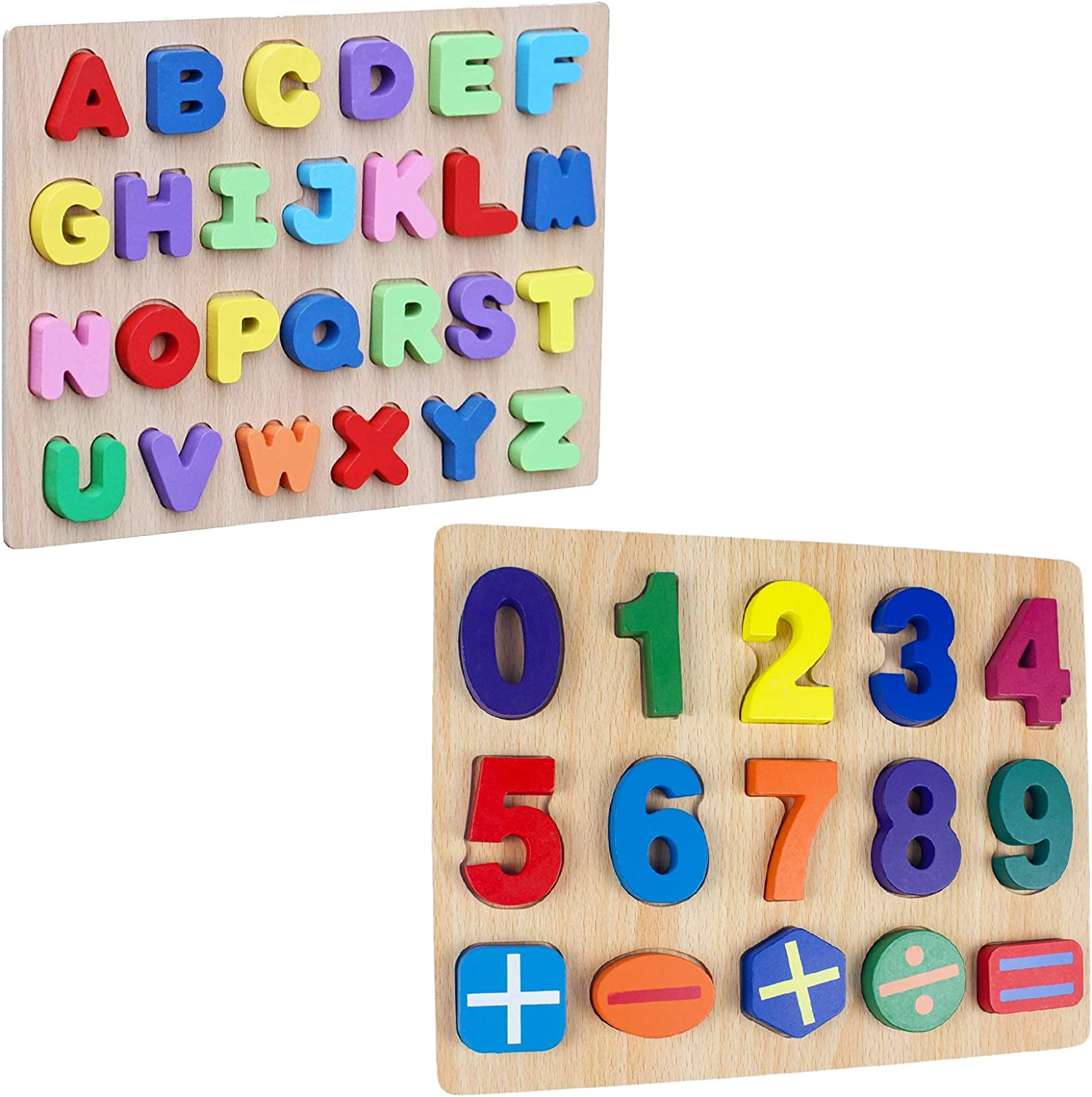Timy Wooden OFFer Regular dealer Alphabet Puzzle and ABC Toddlers for Number