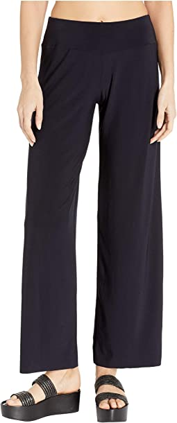 6366a4526a6 Proenza schouler striped thin palazzo pants cover up