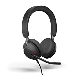 Jabra Evolve2 40 headset – brusreducerande hörlurar USB-C USB-C Stereo