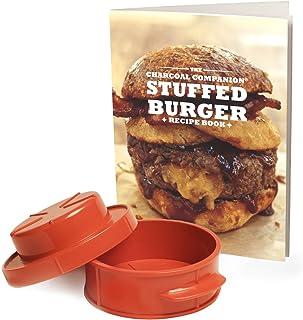 Stuffed Burger Recipe Book & Burger Press