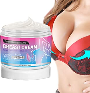 Breast Enhancement Cream,Natural Breast Enlargement,Firming and Lifting Cream,Firms,Plumps & Lifts your Boobs,Natural Enha...