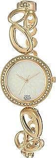 Titan Raga Women's Bracelet Dress Watch with Swarovski Crystals - Quartz, Water Resistant