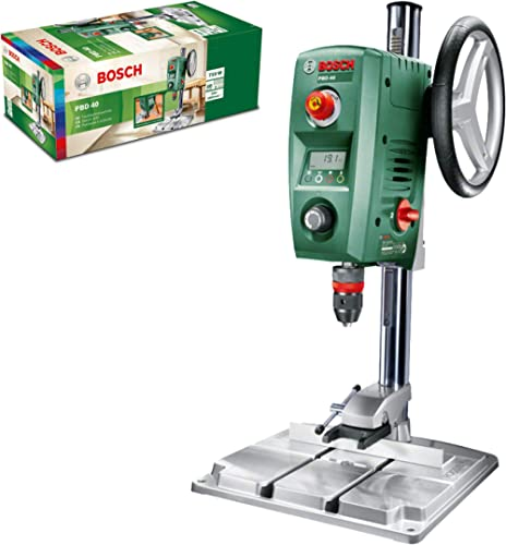 Bosch Bench Drill PBD 40 (710 Watt, Parallel Guide and Clamp Included, in Box)