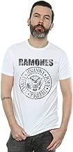 Ramones Men's Distressed Black Seal T-Shirt