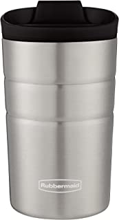 Rubbermaid Leak Proof Flip Lid Thermal Bottle, 10 oz., Black