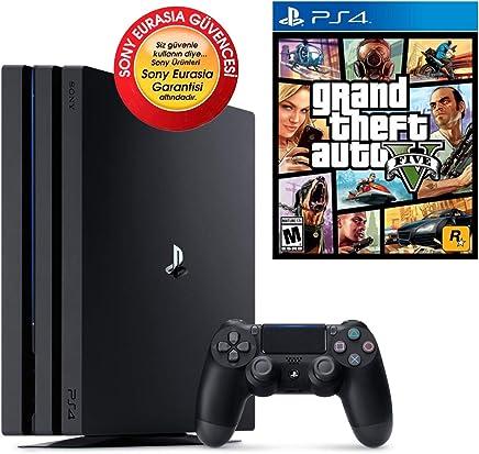 Sony Playstation 4 Pro 1 TB (PS4 PRO) + PS4 GTA 5