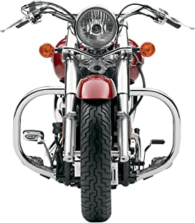 LINDBY BL1311 Gloss Black Front Multibar Fits 2000-2011 Harley-Davidson Fxst Softail Models