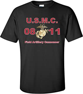 United States Marine Corps MOS 0811 Field ArtilleryCannoneer T-Shirt