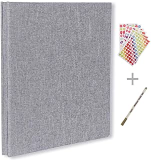 QC Life Self Adhesive Photo Album, Magnetic Scrapbook Album
