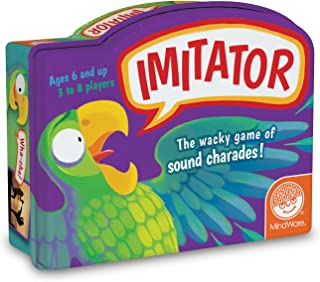 MindWare Imitator – Wacky Sound charades Family Party Game – Hilarious guessing Game for Kids & Adults – 102 Cards – 3 to ...